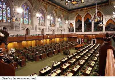 House of Commons Chamber - Chambre des communes, 2016