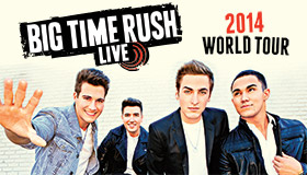 Big Time Rush Live 2014