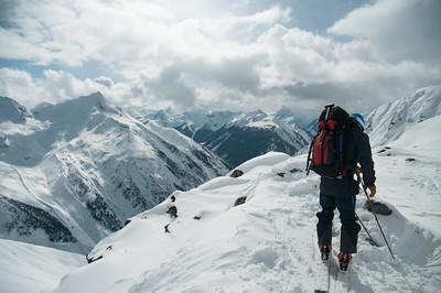 Skier: Emmanuel Demers Location: Roger Col