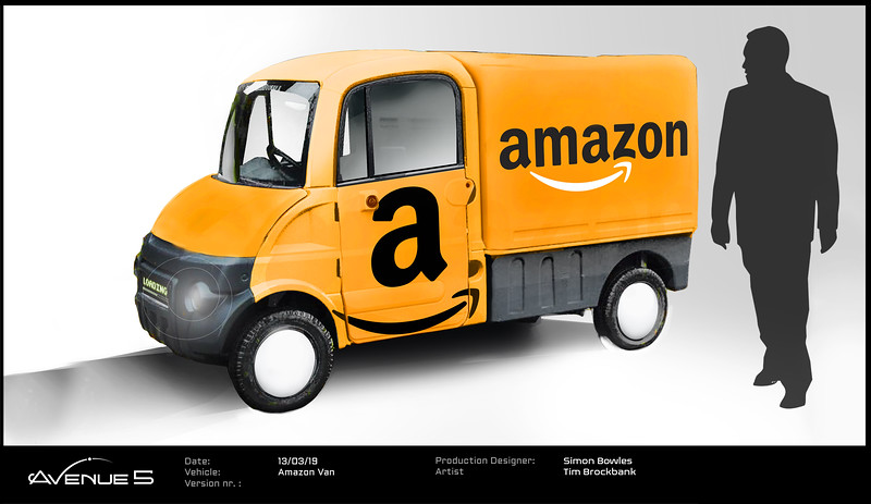 Amazon / UPS Delivery Truck