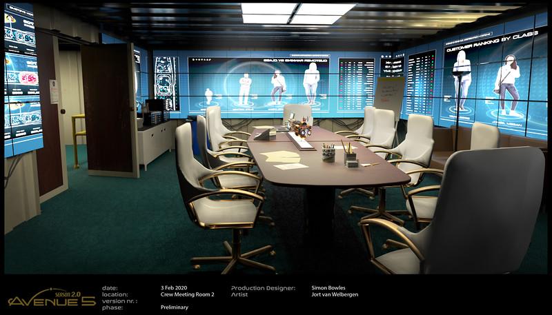Crew Corridor Set - Data Room