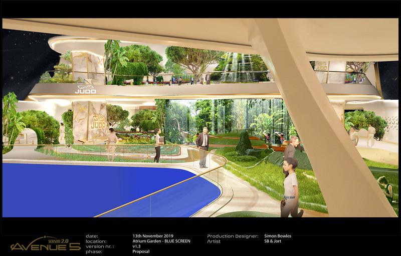 Garden revamp of P Stage Composite Set.