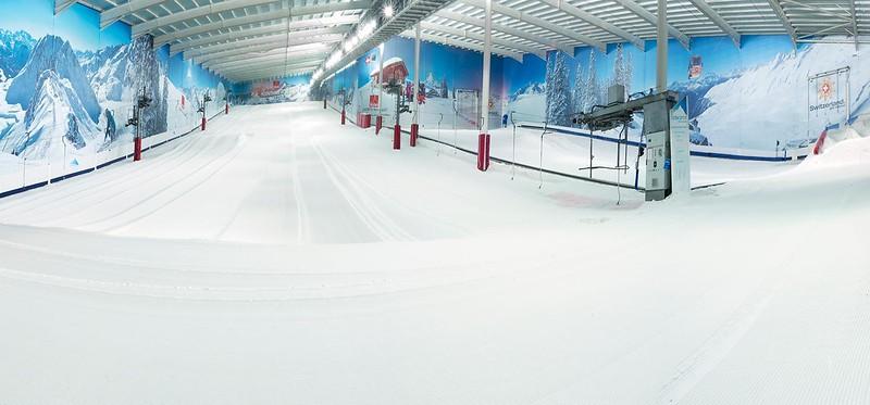 Indoor Ski Location