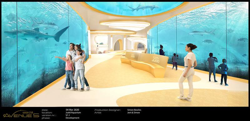 Aquarium revamp of Corridor.