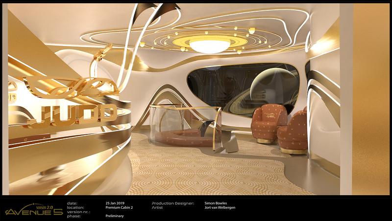 Premium Economy Cabin