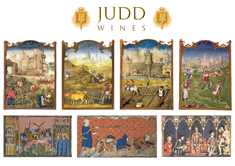 Judd Wine Tasting - murals