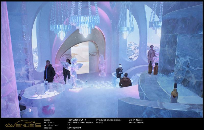 Judd Ice Bar revamp of Prayer Room.