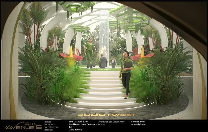 Judd Arboretum revamp of Prayer Room.