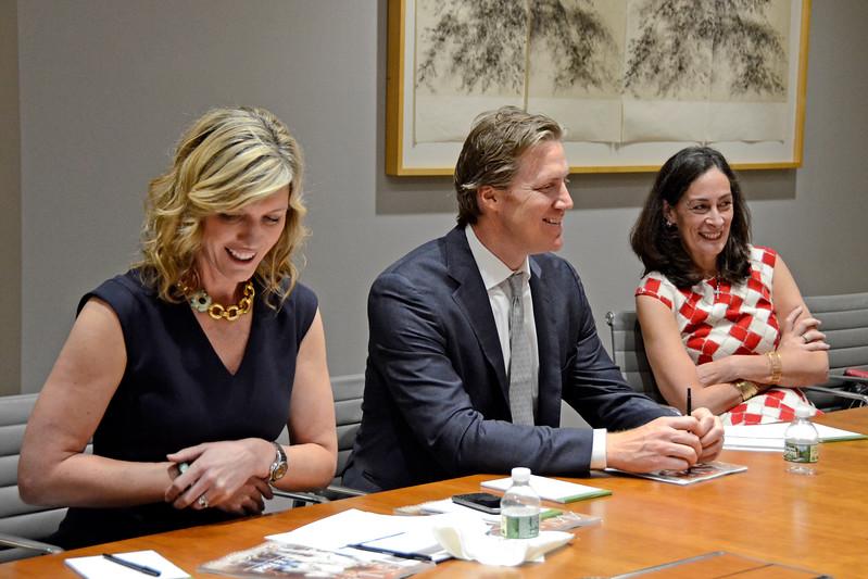 Avenue Magazine Roundtable - Wilmington Trust New York, New York - 06.08.17 Credit: Lukas Greyson