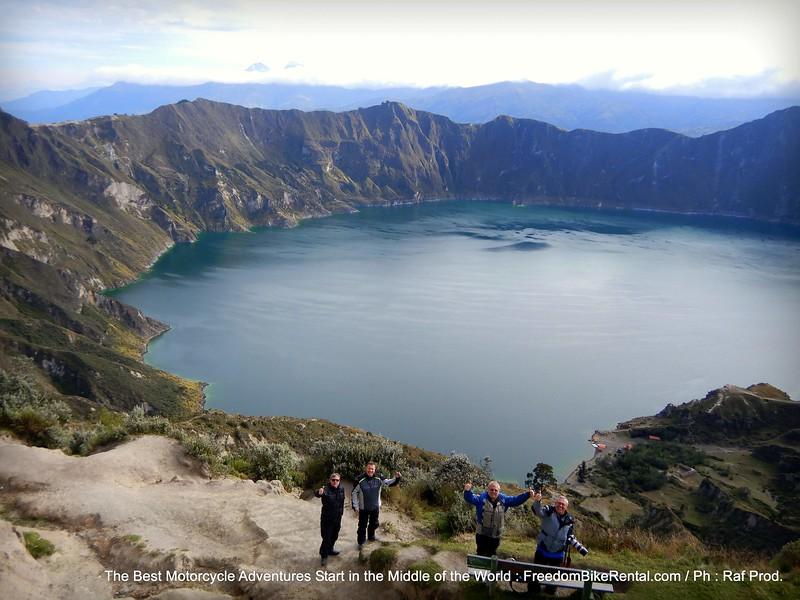 Avenue of Volcanoes, Quilotoa Loop & Amazon Basin Tour