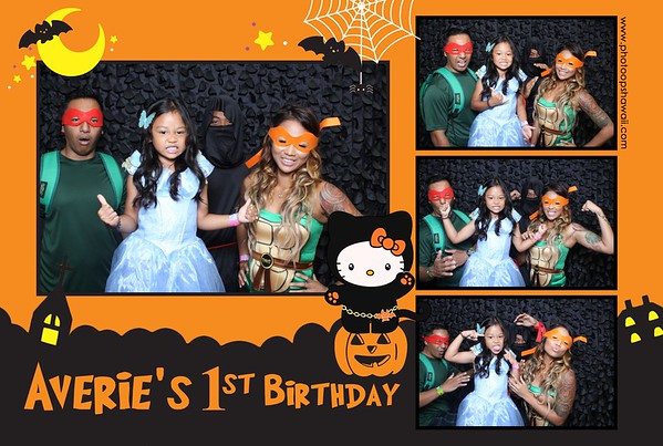 Averie's 1st Birthday (Fusion Photo Booth)