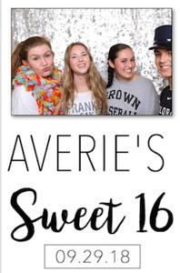 Averie's Sweet 16