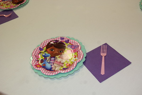 Averi first Birthday Hosted by Doc McStuffins