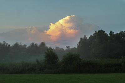 Sunrise on Avery Island.