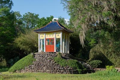 Buddha's Garden in Jungle Gardens on Avery Island