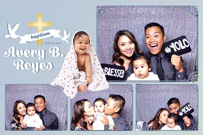 Avery B Reyes Christening
