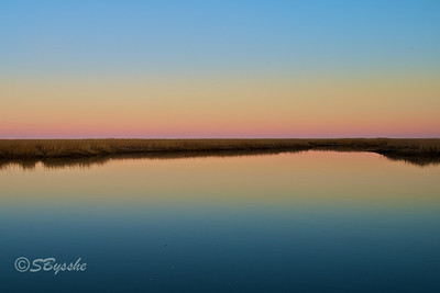 Sunset Marsh, Bombay Hook, Delaware