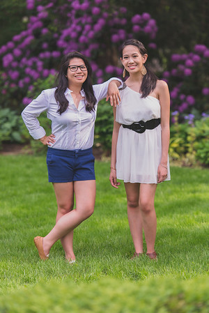 Avianne & Abby  Portraits 5-26-14