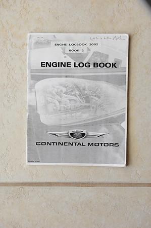 Debonair Engine Logbooks