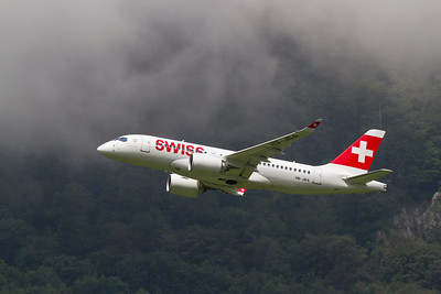 Bombardier CS100 / Swiss / HB-JBA