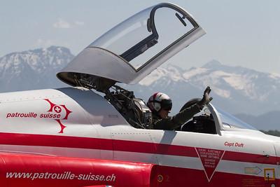 Patrouille Suisse / Capt Duft