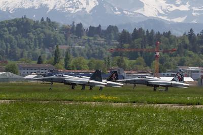 Jubiläum der Tiger F5e Flotte