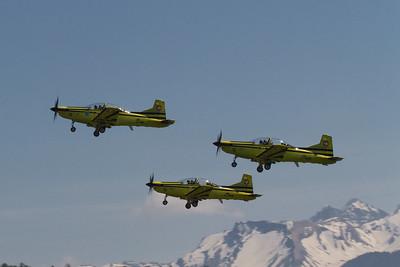 Jubiläum der Pilatus PC-9 Flotte