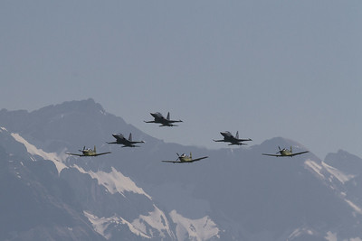 Jubiläum der Tiger F5e Flotte und der Pilatus PC-9 Flotte