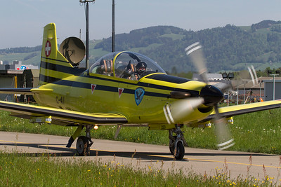 Pilatus / PC-9 / Swiss Air Force / C-411