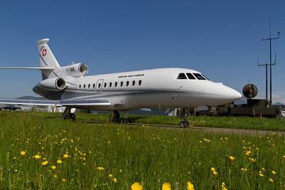 Dassault / Falcon 900EX / Swiss Air Force / T-785
