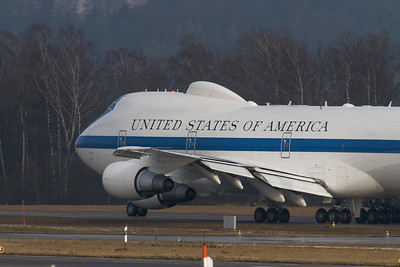 USA - Air Force / Boeing / E-4B / 50125