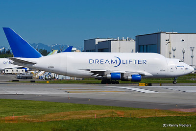 "Snohomish County Airport  ""The DreamLifter"""