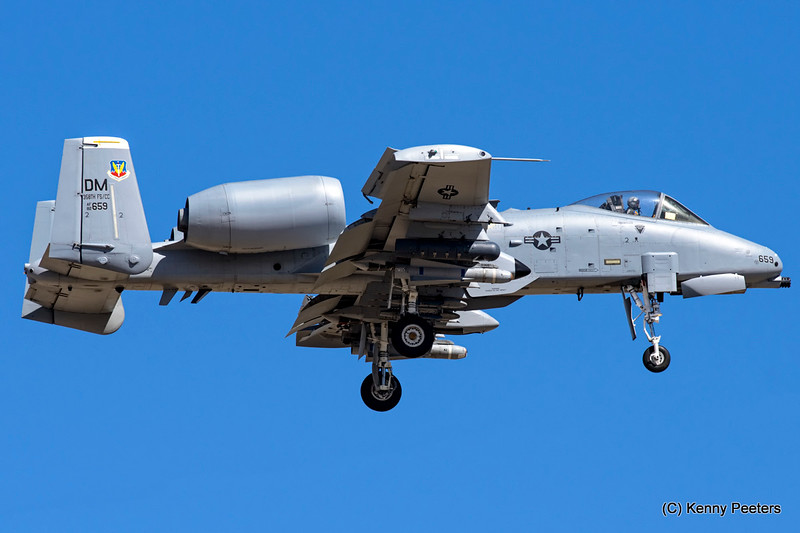 82-0659  A-10C USAF 357th FS