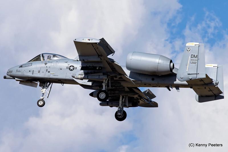 79-0202 A-10C USAF 357th FS
