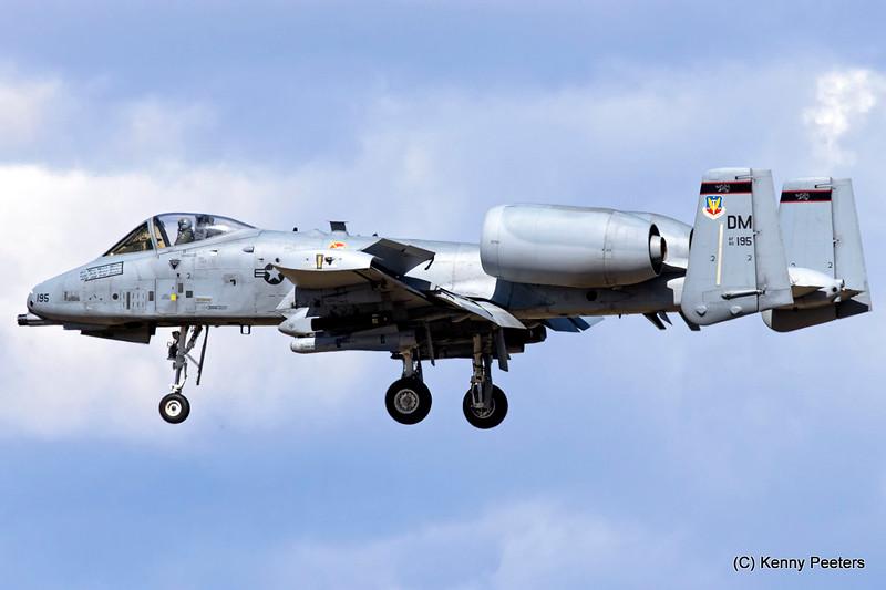 80-0195  A-10C  USAF 357th FS