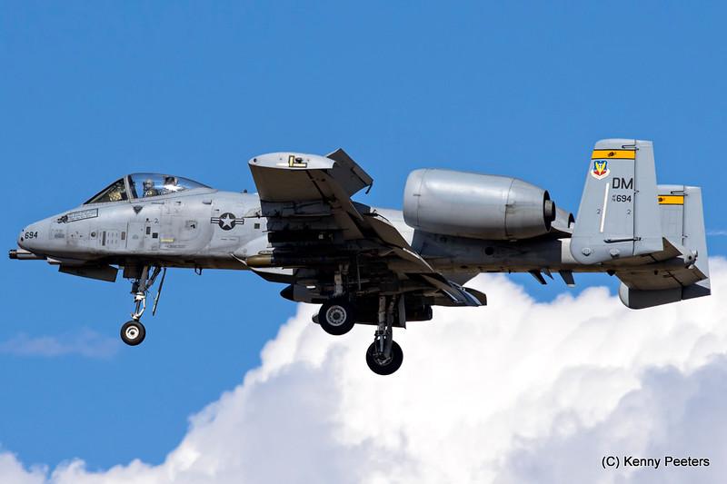 78-0694  A-10C USAF 357th FS