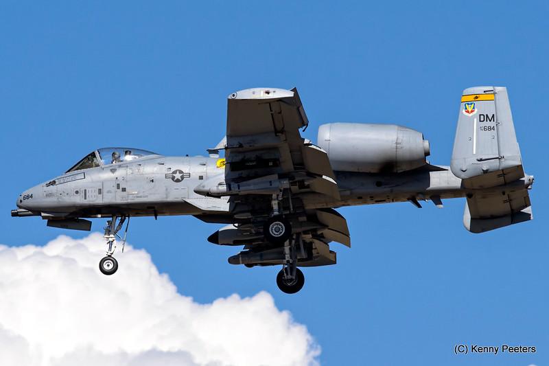 78-0684  A-10C USAF 357th FS