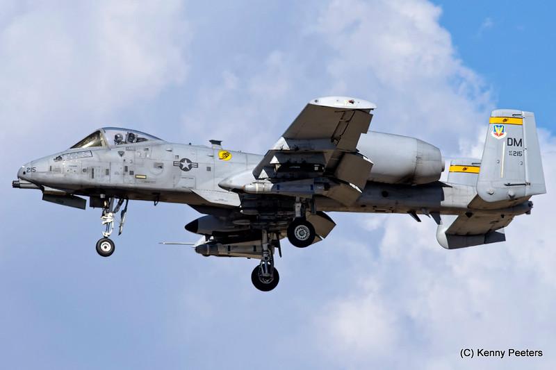 80-0215  A-10C  USAF 357th FS