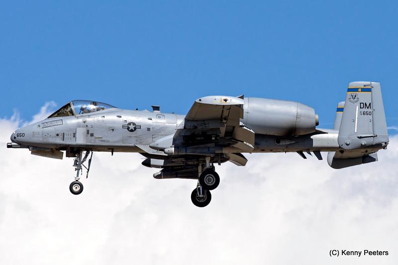 78-0650  A-10C USAF 354th FS
