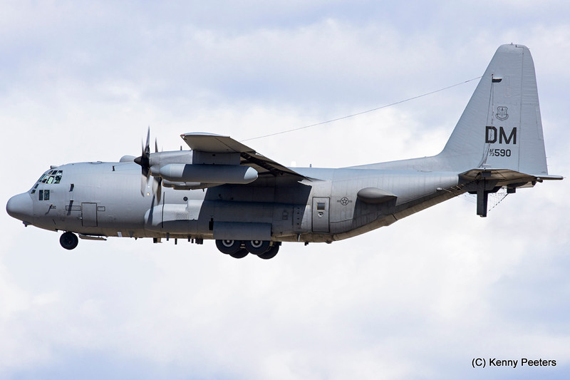 73-1590  EC-130H USAF 43rd ECS