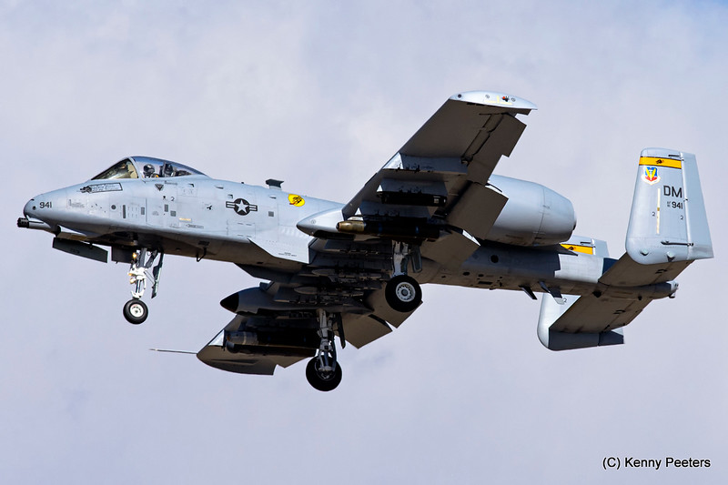 81-0941  A-10C USAF 357th FS