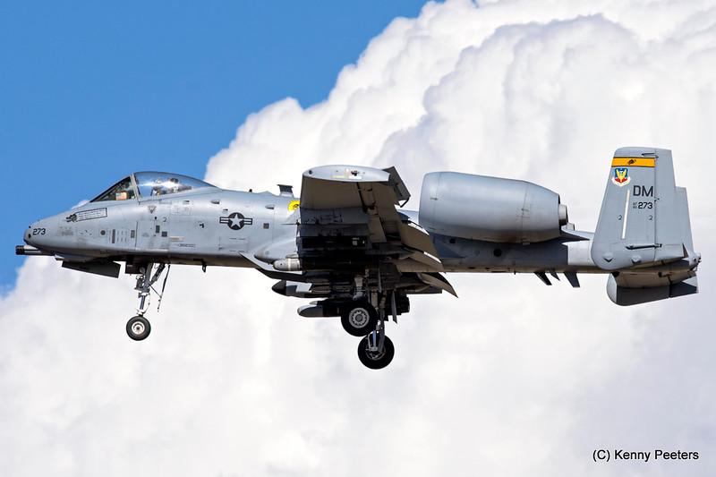 80-0273  A-10C USAF 357th FS