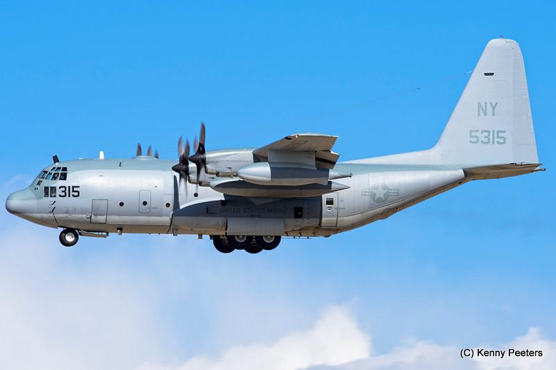 165315 KC-130T  MARINES VMGR-452
