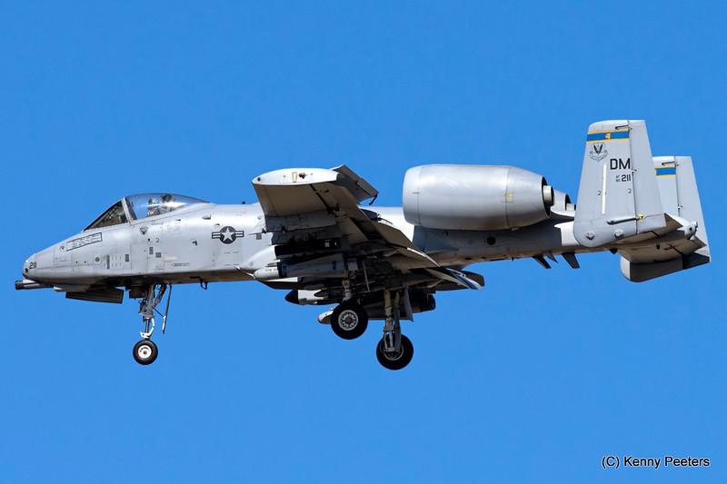 80-0211  A-10C USAF 354th FS