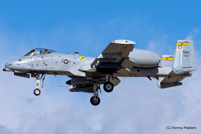 81-0949  A-10C USAF 357th FS