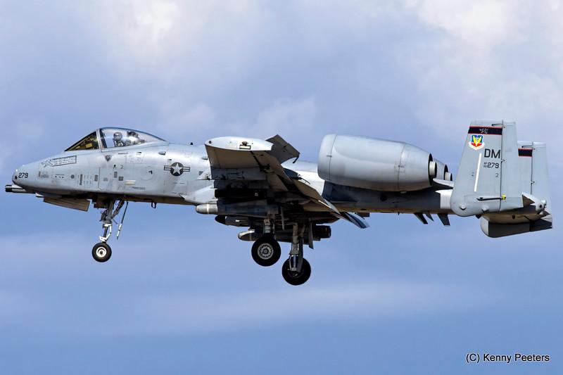 80-0279 DM A-10C USAF 358th FS
