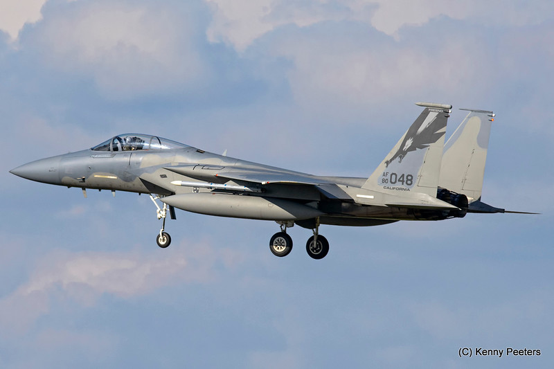 "80-0048  F-15C   California Air National Guard   ""194th FS CA ANG '144th FW'  """