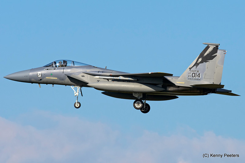 "84-0014  F-15C   California Air National Guard   ""194th FS CA ANG '144th FW'  """