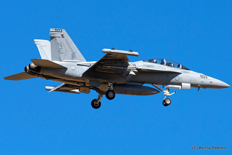 "168264 EA-18G  NAVY  VAQ-136  ""The Gauntlets"""
