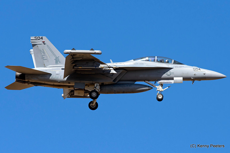 "168265 EA-18G NAVY   VAQ-136  ""The Gauntlets"""